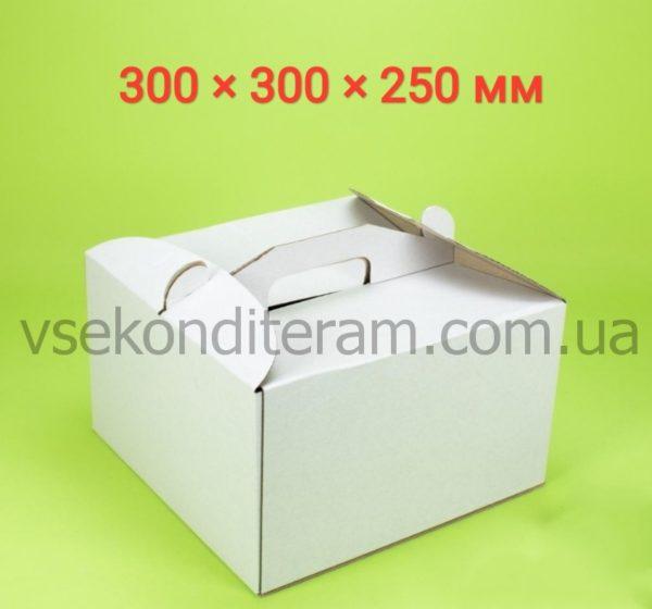 коробка для торта белая