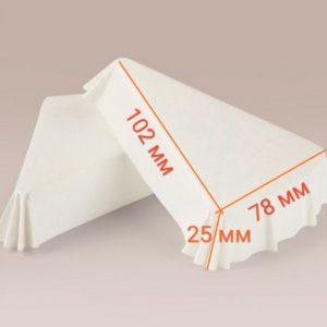 треуголные бумажные формы