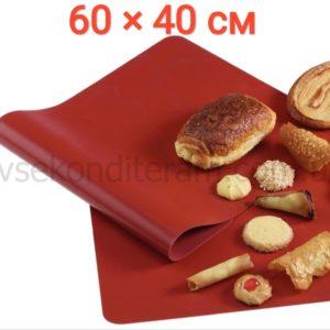 Силиконовый коврик для выпечки 60 см