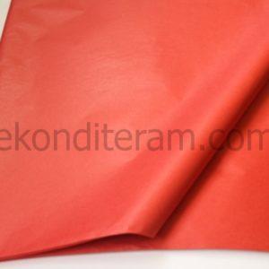 красная бумага для упаковки