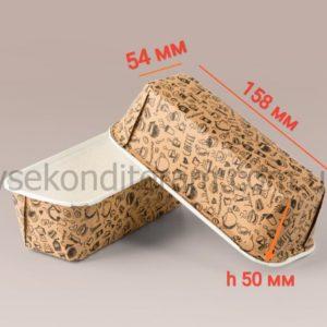 бумажная форма для кекса с узорами