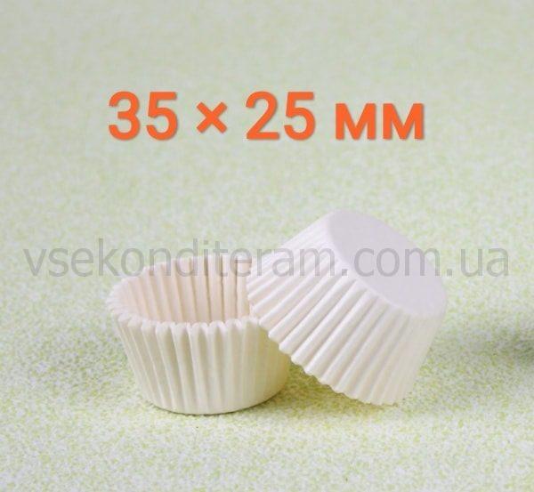 тарталетка белая для конфет