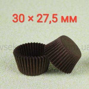 капсула для конфет коричневая