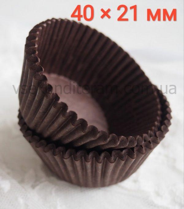 бумажные тарталетки для выпечки коричневые