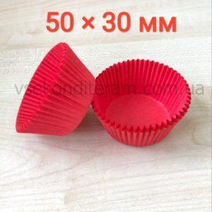 бумажные тарталетки для выпечки кексов 50х30 мм