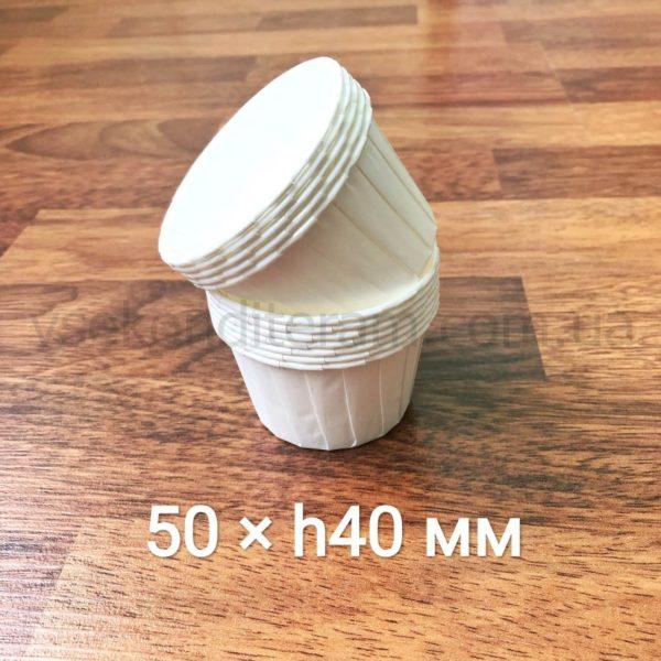 бумажные формочки для выпечки с усиленным бортиком