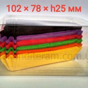 треугольные бумажные подложки для кусочка тортика