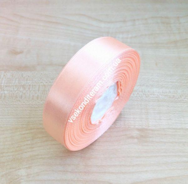 лента атласная 2 см розовая