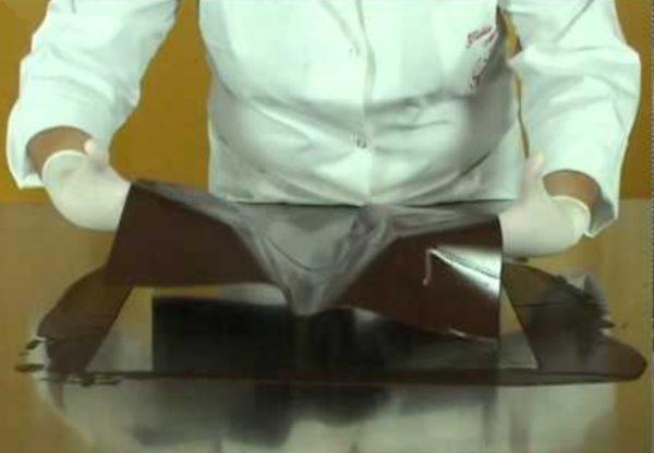 гитарный лист для работы с шоколадом