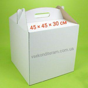 коробка для торта 45х45х30 см