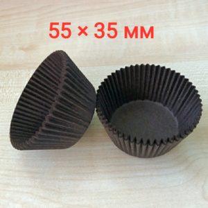 бумажные формочки 55х35 мм