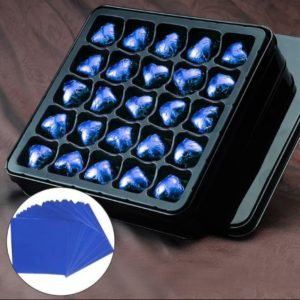 фольга для конфетсиняя